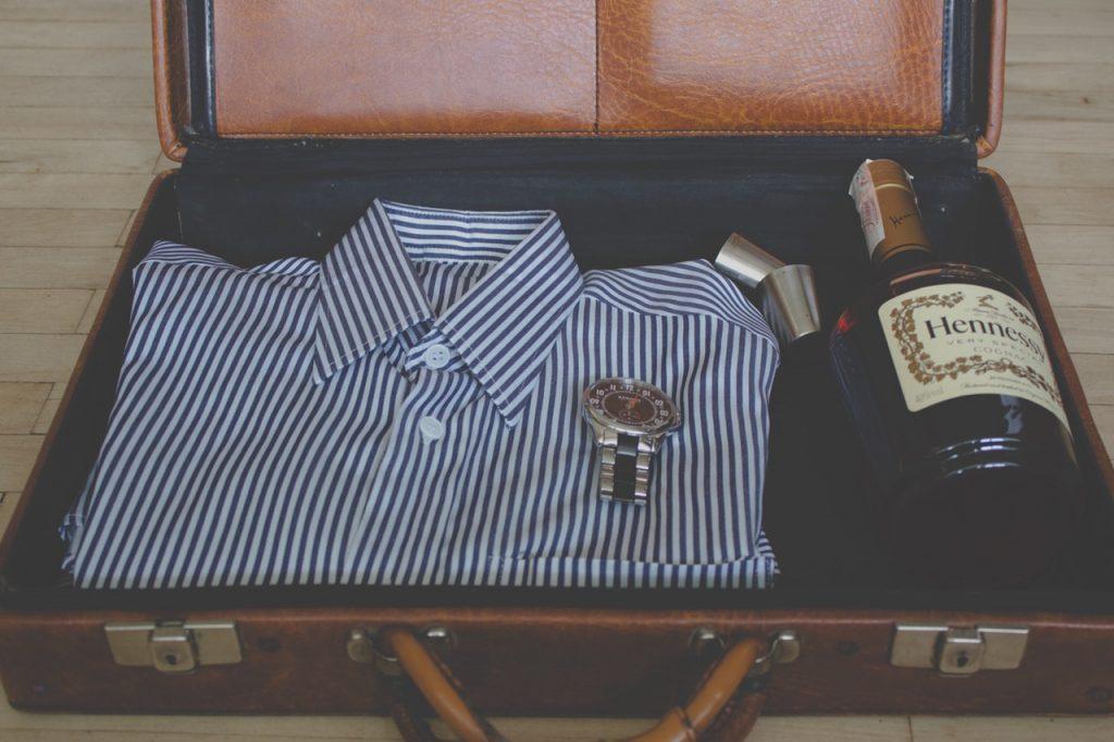 valise pour une soirée en amoureux